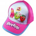 Kids baseball cap sports cap hat - SHOPKINS pink