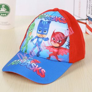 Kids 3d cap hat - PJ Mask 3 red