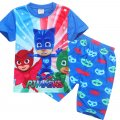 Boys PJMASKS short sleeve set pjs
