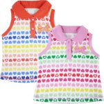 baby Girls dadida singlet heart shirt with 3d bow