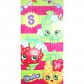 Boys Girls Large Bath / Beach Towel - shopkins