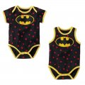 Boys baby toddler cotton Romper - batman shortsleeve