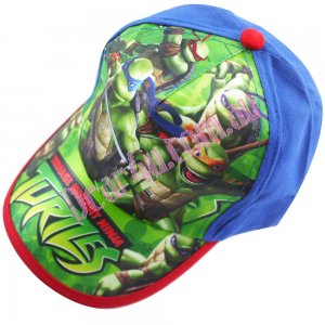 Kids 3d cap hat - TMNT blue