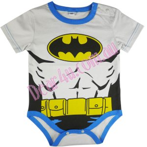 Boys baby toddler cotton Baby Romper - batman baby musle