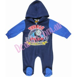 Baby Boys Winter Thomas overall - blue