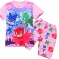 Girls PJMASKS short sleeve set pjs