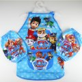 Boys kichen chef craft cooking apron with sleeves - paw patrol