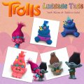 TROLLS Silicone Travel Luggage Baggage Tags