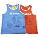 Boys singlet sleeveless shirt top tee - traveling