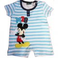 Boys baby Romper blue stripe - Mickey Mouse