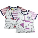 Boys Girls 100% cotton tshirt patch work