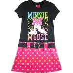 Girls one piece tennis dress - Minnie Mouse 3 black and red