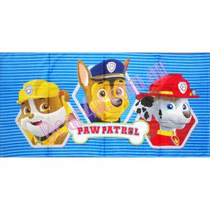Boys Large Bath / Beach Towel - Paw patrol Chase Marshall