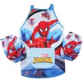 Boys kichen chef craft cooking apron with sleeves - Spiderman