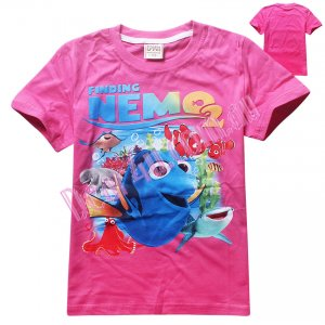 Girls Finding DORY finding NEMO2 cotton t-shirt - pink