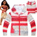 Girls MOANA thin hoodie jacket